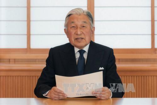 越南党和国家领导人致电祝贺日本明仁天皇85岁生日 hinh anh 1
