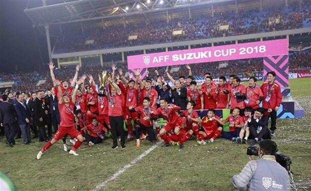FIFA年终排行榜:越南国足稳居东南亚第一位 hinh anh 1