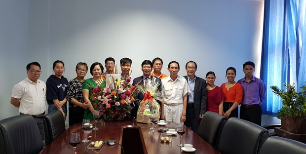 越南人民军建军74周年庆祝活动在莫桑比克和坦桑尼亚举行 hinh anh 1