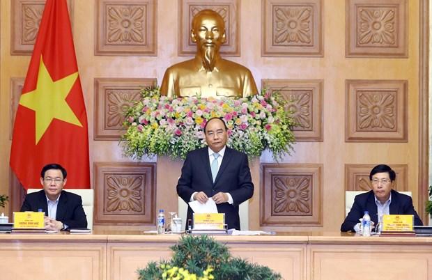 越南政府总理阮春福: 填补不足之处 力争2019年越南经济增长率达7% hinh anh 1
