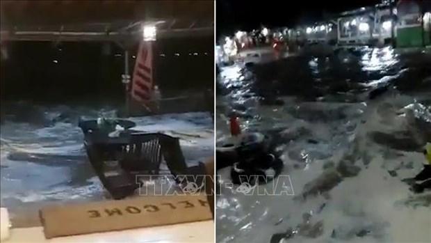 印尼万丹海啸:尚未收到越南公民在海啸中伤亡的报告 hinh anh 1