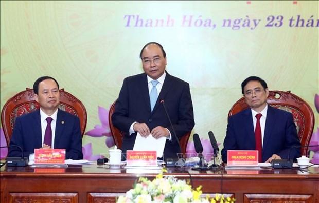 政府总理阮春福:清化省在投资中应注重让人民成为最大受益者 hinh anh 1