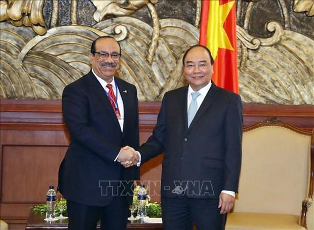阮春福:越南政府一向鼓励外国投资者前来投资 hinh anh 1