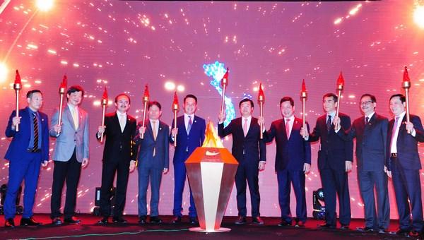越南青年企业家运动25周年纪念典礼在河内举行 hinh anh 1