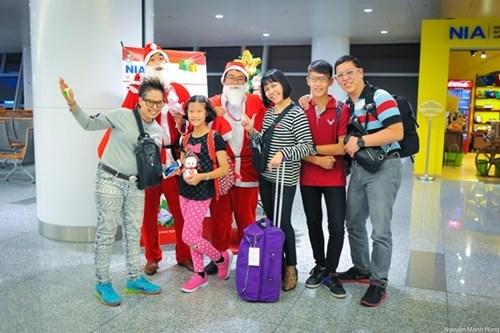 内排国际机场启动喜迎圣诞节和2019新年活动 hinh anh 1