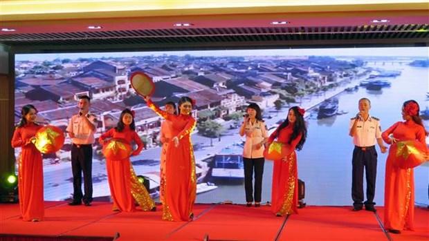 越中海警第二届青年警官交流活动在岘港市举行 hinh anh 1