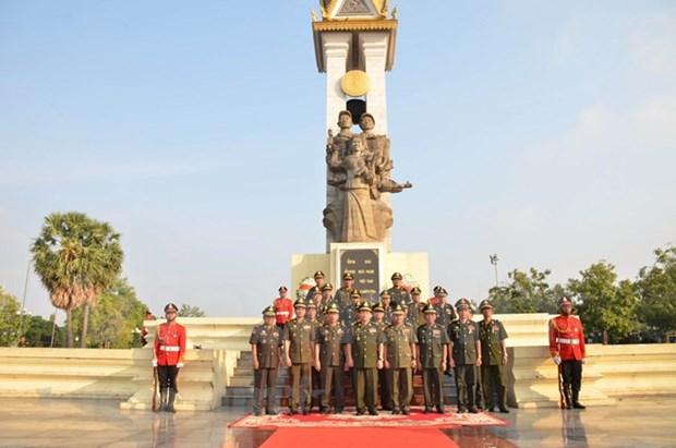 柬埔寨摆脱种族灭绝制度40周年:柬埔寨缅怀援柬的越南志愿军 hinh anh 2
