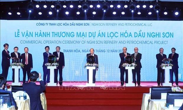 清化省宜山炼油化工联合项目正式投入商业运行 hinh anh 1