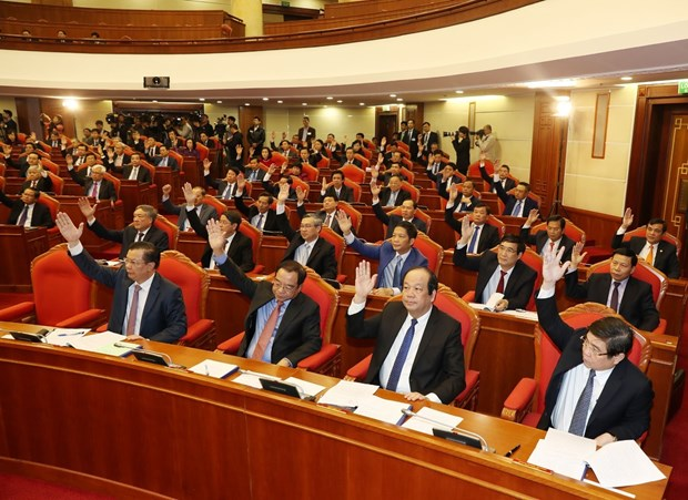 越共第十二届中央委员会召开第九次全体会议 hinh anh 2