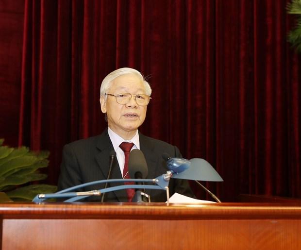 越共第十二届中央委员会召开第九次全体会议 hinh anh 1