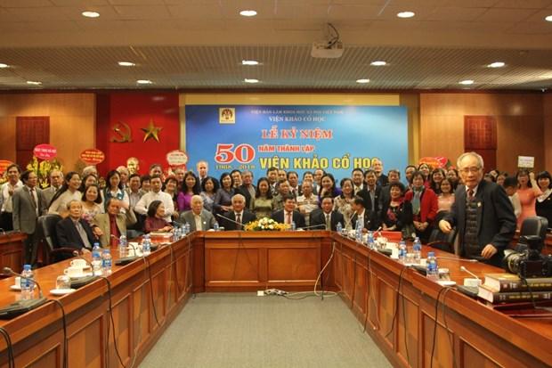 越南考古研究工作为保护和弘扬文化遗产价值做出积极贡献 hinh anh 1