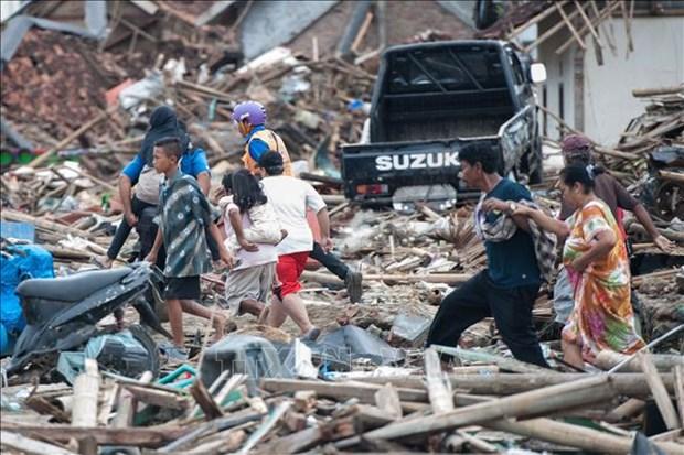 印尼海啸:受伤人员正得到积极救治 hinh anh 2