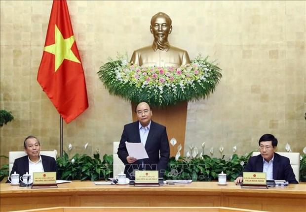 政府12月份例行会议:2018年GDP增长率达7.08% 创下新记录 hinh anh 1