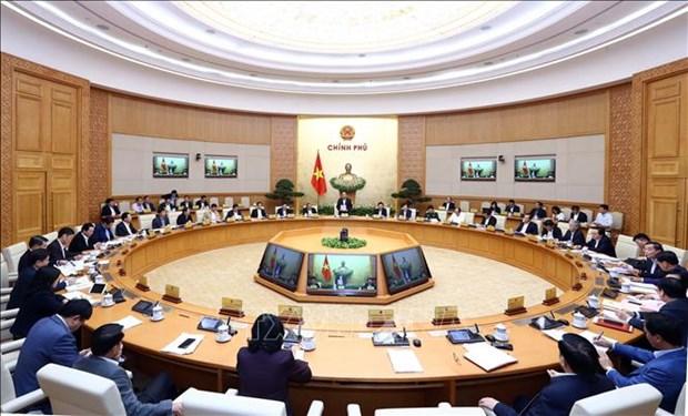政府12月份例行会议:2018年GDP增长率达7.08% 创下新记录 hinh anh 2