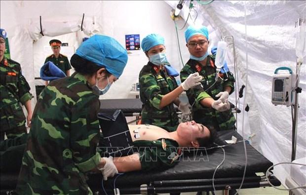2018年越南军医部门取得显著成果 hinh anh 1