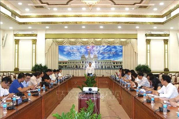 胡志明市对外公布2018年十大事件 hinh anh 1