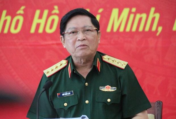 越南国防部部长吴春历大将对柬埔寨进行正式访问 hinh anh 1