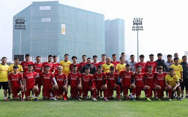 越南国足敲定2019年亚洲杯赛前在卡塔集训的球员名单 hinh anh 1