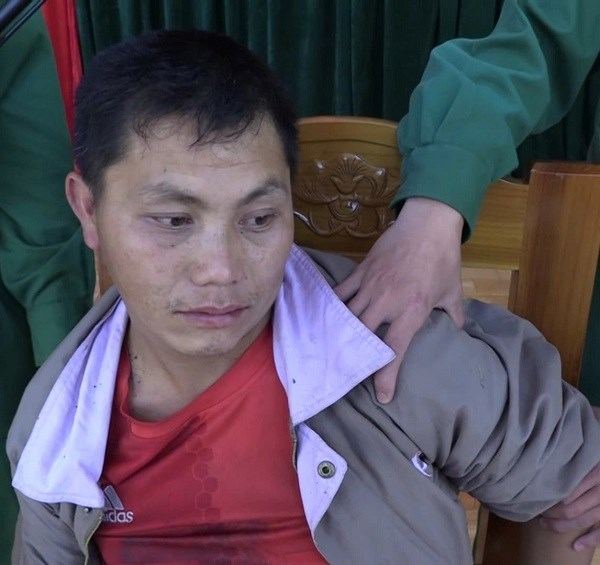 乂安省:一名老挝籍毒贩在乂安省边境地带被抓 hinh anh 1