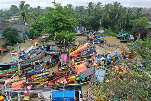 印尼东部发生6.1级地震 hinh anh 1