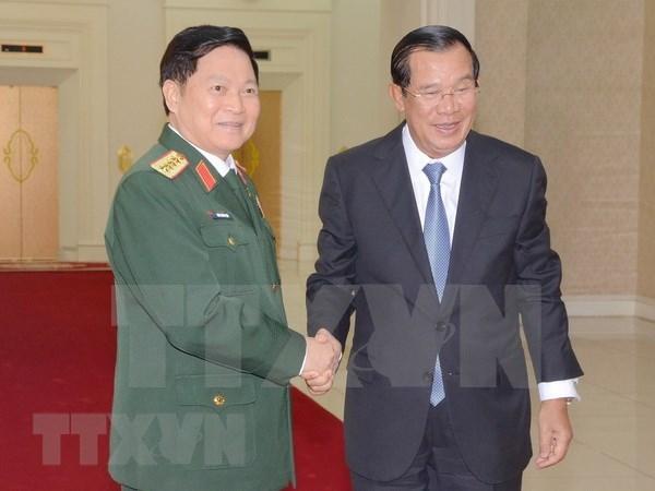 防务合作一直是越柬关系的重要支柱 hinh anh 1
