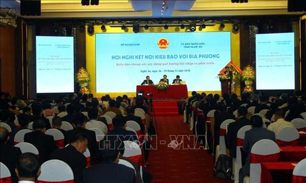 海外越侨同胞携手建设祖国家乡 共促融入与发展 hinh anh 1