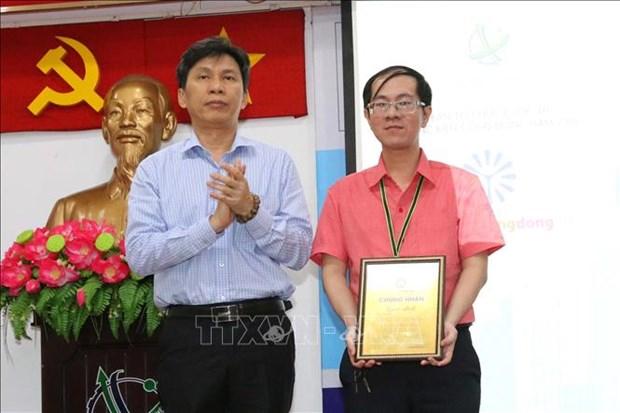 """胡志明市举行""""2018年惠及社区创新""""竞赛总结颁奖仪式 hinh anh 2"""