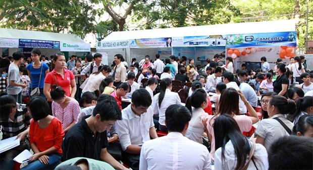 2018年越南青年人口占全国人口的24.6% hinh anh 1
