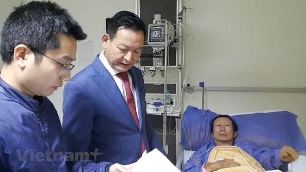越南游客在埃及金字塔附近遇袭事件:越南驻埃及大使馆尽一切努力为受害者提供帮助 hinh anh 1