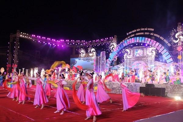 喜迎2019新年的东区文化旅游节热闹开场 hinh anh 1