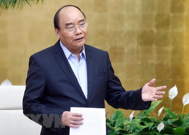 政府总理阮春福:努力改革创新 加大行动力度 力争全面胜利完成2019年计划 hinh anh 1
