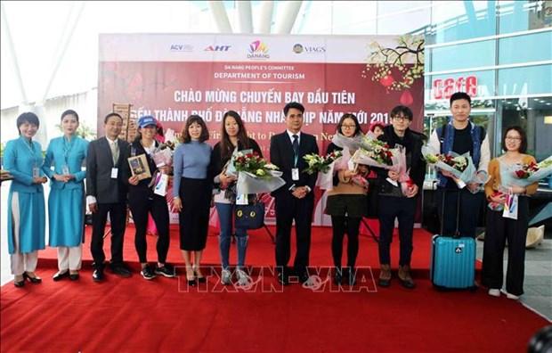 越航迎来2019年第一批外国游客 hinh anh 3