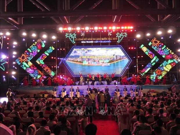2019年国家旅游年在庆和省芽庄市正式启动 hinh anh 1