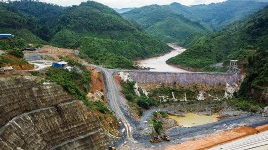 2019年老挝将完成12个水电站建设项目 hinh anh 1