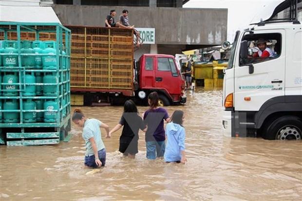 菲律宾大规模洪水及山崩:死亡人数继续上升 hinh anh 1