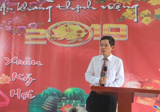 越南驻安哥拉大使馆举行新年联欢会 hinh anh 1