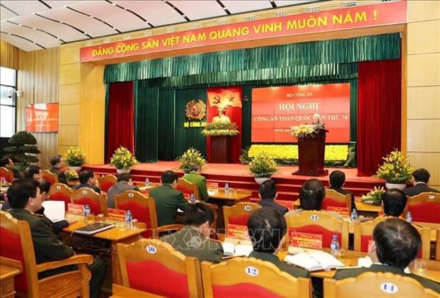 越共中央总书记、国家主席阮富仲出席第74次全国公安会议 hinh anh 1