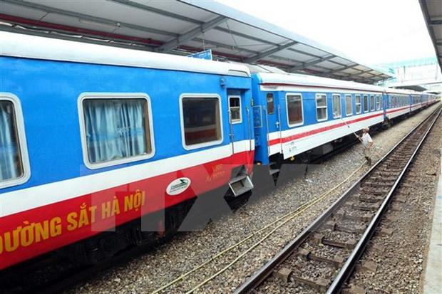 河内到南宁国际列车运行十载 运送旅客量超40万人次 hinh anh 1