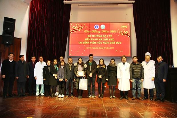 越南卫生部长阮氏金进:捐献器官救人是慈善事业的最高行为 hinh anh 1