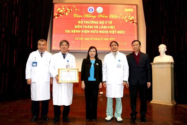 越南卫生部长阮氏金进:捐献器官救人是慈善事业的最高行为 hinh anh 2