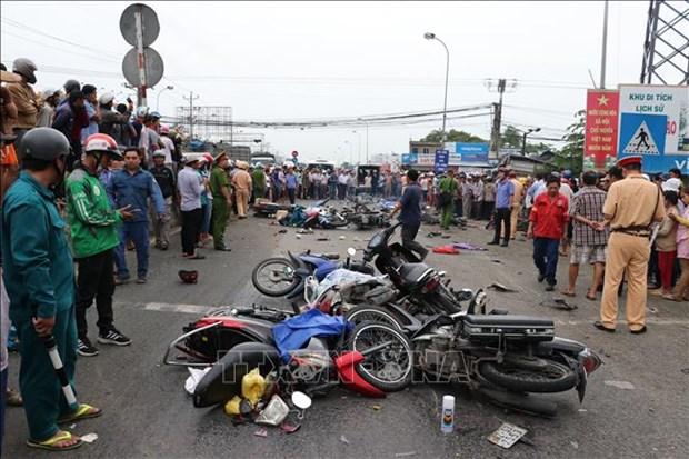 政府常务副总理张和平就隆安省发生重大交通事故作出指示 hinh anh 1