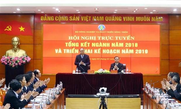 阮春福总理:力争未来10年越南跻身世界上农业最发达的15个国家行列 hinh anh 1