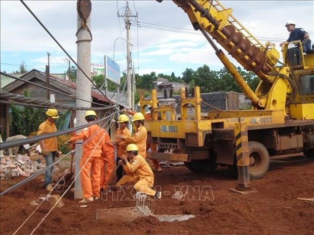 得农省成为柬埔寨蒙多基里省的主要电力供应来源 hinh anh 1