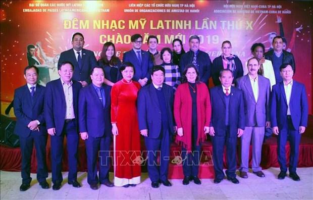 第10届拉丁美洲音乐会在河内举行 hinh anh 3