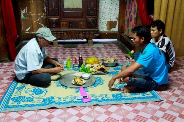 巴姑族同胞的欢庆米饭节——阿扎节 hinh anh 1
