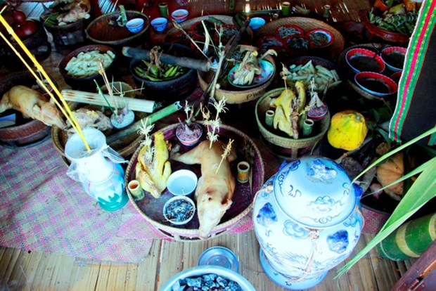巴姑族同胞的欢庆米饭节——阿扎节 hinh anh 2