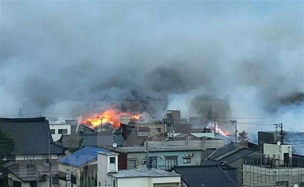 缅甸西部地区发生火灾 160多间房屋被烧毁 hinh anh 1