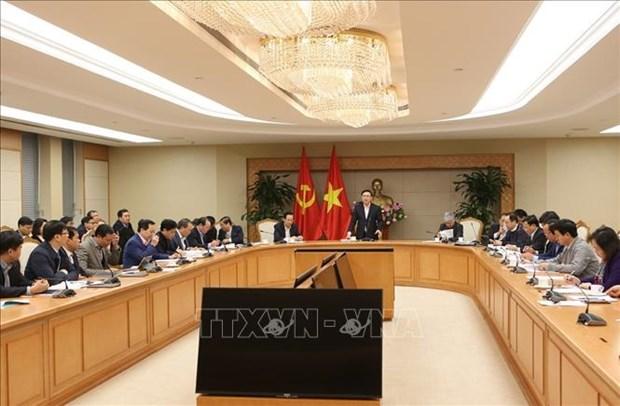 政府副总理王廷惠:集中建设新农村示范模式 hinh anh 1