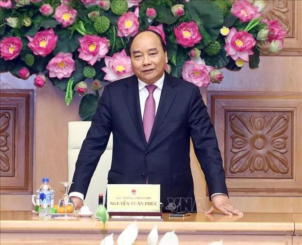 越南政府总理阮春福与越南社区保健教育协会领导会面 hinh anh 2