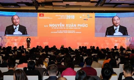 政府为2019年越南经济论坛开展准备工作 hinh anh 1